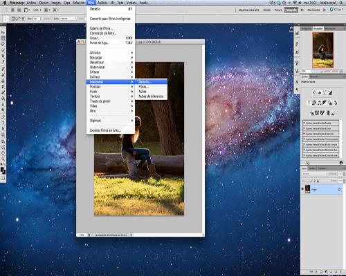 Como crear Lens Flare en photosop