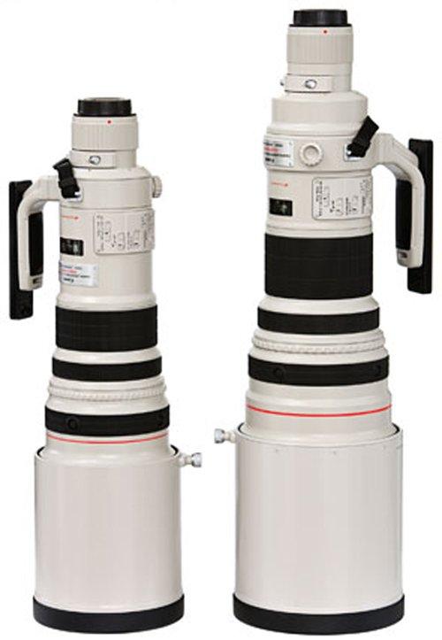 Lente Canon 500mm y 600mm