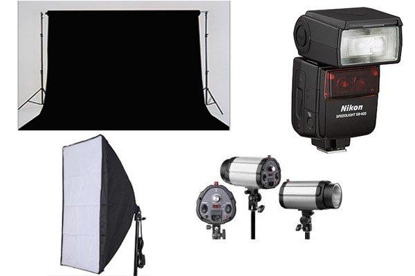 Equipo para estudio de fotografia