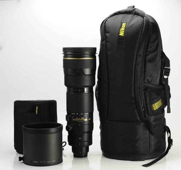 Mochila para lente Nikon