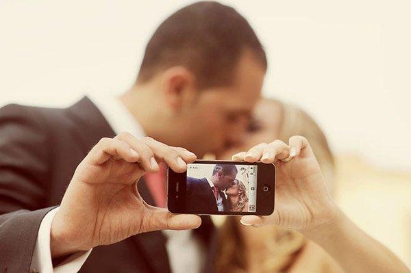 selfie-wedding