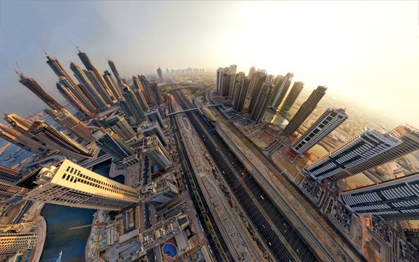 6973224-dubai-fisheye-view