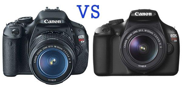 Canon t3i vs canon 3t