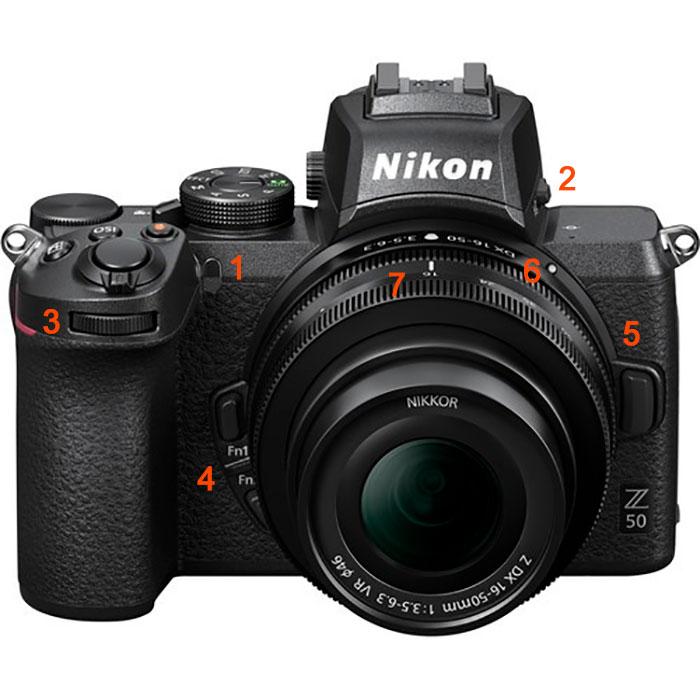 Funciones de la camara Nikon Z50 (Mirrrorless) que debes aprender