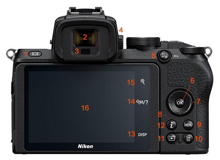 Funciones de la camara Nikon Z50 (Mirrorless) que debes aprender