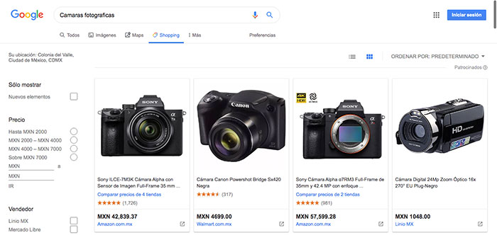 Consejos para comprar equipo fotográfico