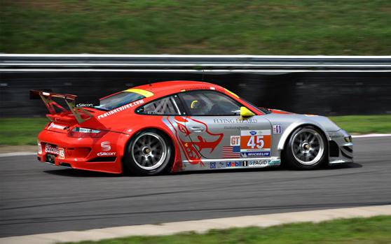 Fotografías en carreras de autos