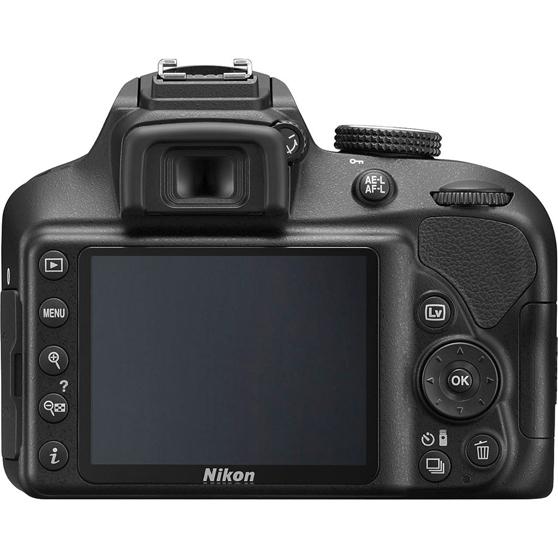 Nikon D3400 con conexión inalámbrica SnapBridge