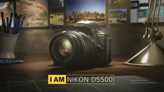 Funciones de la Nikon D5500