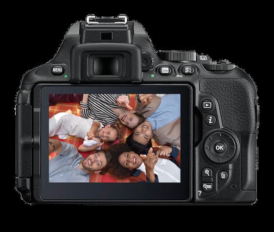 Funciones de la Nikon D5600 posterior
