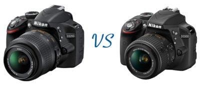Comparación NikonD3300 Vs Nikon D3200