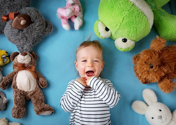 Sesión de fotografía para bebé
