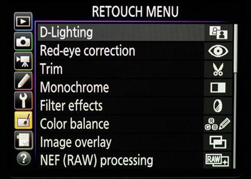 Configuracion Nikon