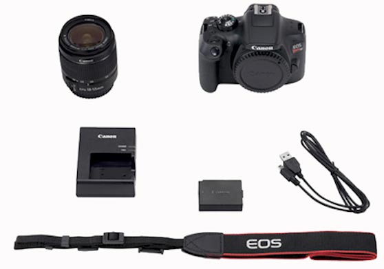 Camara Canon EOS Rebel T6 Funciones